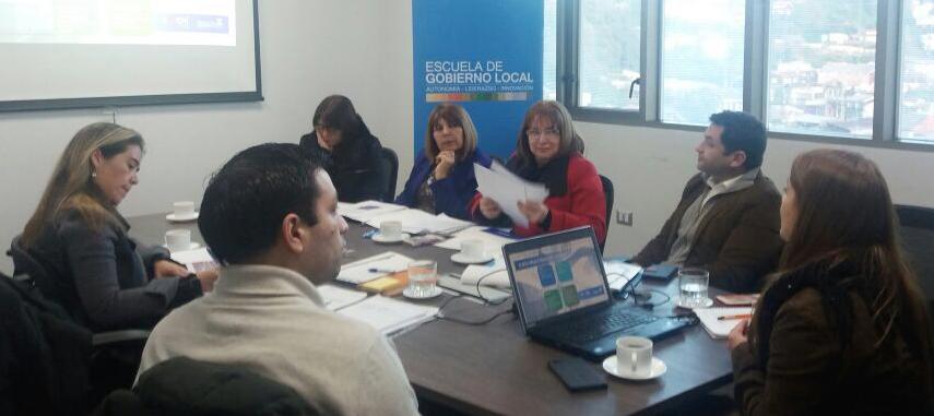 Escuela de Gobierno Local lidera 9 Proyectos de Optimización de Plantas y Reorganización Municipal