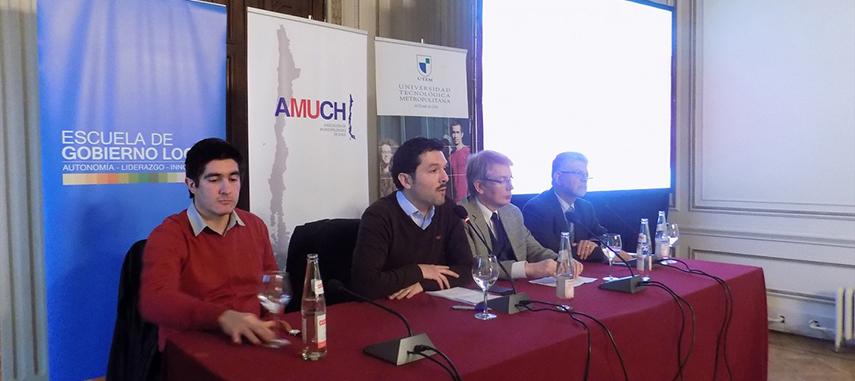 Escuela De Gobierno Local Participó En Presentación De Estudio Sobre Descentralización Y Municipios Bajo La Mirada De Los CORES