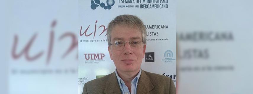 Dr. Daniel Cravacuore asume como Director Académico de la Escuela de Gobierno Local