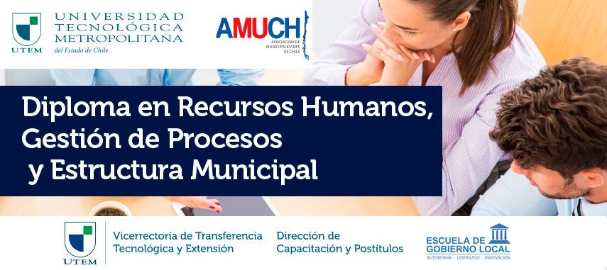 Diplomado en Recursos Humanos, Gestión de Procesos y Estructura Municipal