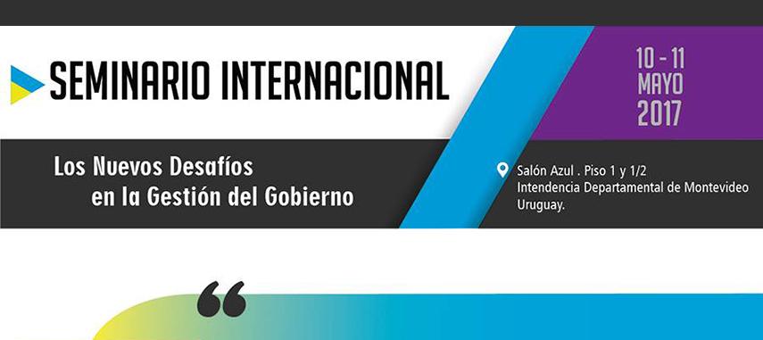 Director Académico de la Escuela de Gobierno Local, será expositor en el Seminario Internacional sobre Los Nuevos Desafíos en la Gestión del Gobierno