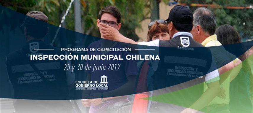 Programa De Capacitación: Inspección Municipal Chilena