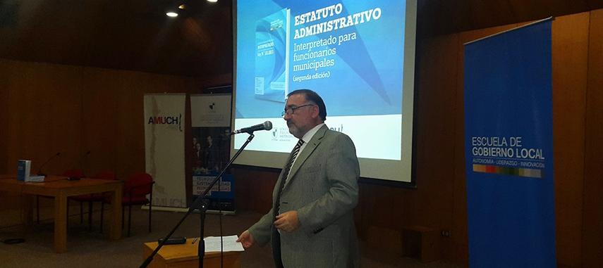 "EGL En Presentación: ""Estatuto Administrativo. Interpretado Para Funcionarios Municipales (2da Edición)"""