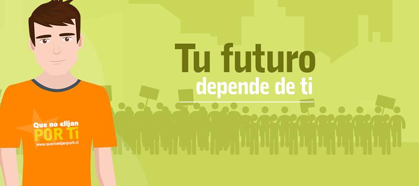 Súmate A La Campaña #QueNoElijanPorTi