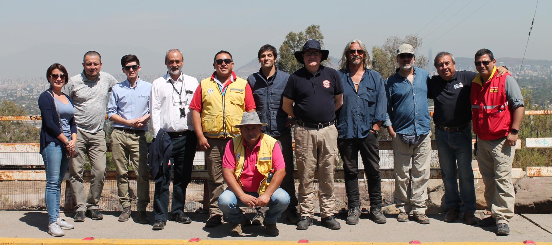 Con Importantes Resultados Finalizan El Proyecto De Gestión De Riesgos En El Contrafuerte Cordillerano De Santiago